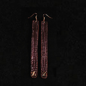 Z croco earrings zo landing 3